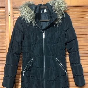 H&M DIVIDED puffer coat